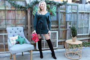 Love It Scallop Sweater Dress