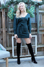 Load image into Gallery viewer, Love It Scallop Sweater Dress