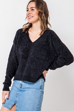 Load image into Gallery viewer, Mya V-Neck Chenille Sweater