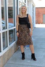 Load image into Gallery viewer, Sydney's Leopard Midi Skirt