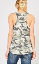 Load image into Gallery viewer, Camo Tank Top