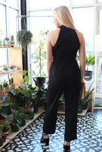 Load image into Gallery viewer, At Midnight Criss-Cross Jumpsuit