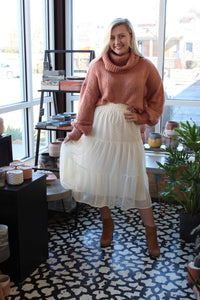 On Top Midi Skirt
