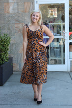 Load image into Gallery viewer, Morning Toast Animal Print Dress
