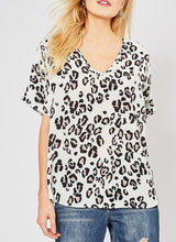 Load image into Gallery viewer, Winnie's Leopard Print Blouse