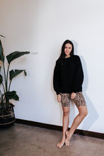 Load image into Gallery viewer, Leopard Biker Shorts