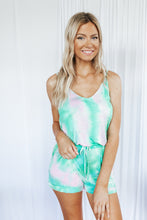 Load image into Gallery viewer, Lilly Tie Dye Tank Loungewear