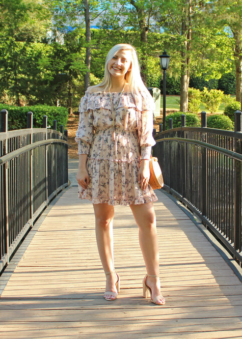 Little Prairie Floral Dress