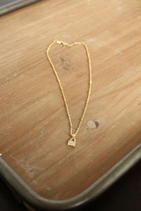 Love Lock Pave Necklace