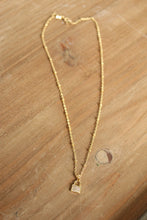 Load image into Gallery viewer, Love Lock Pave Necklace