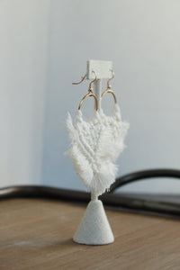Fringe Macrame Earrings