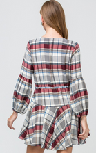 Load image into Gallery viewer, Apple Orchard Plaid Dress