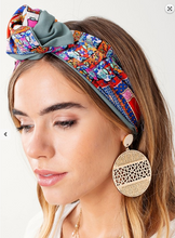 Load image into Gallery viewer, Moroccan Dreams Knotted Headband