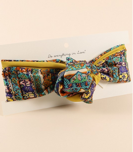 Moroccan Dreams Knotted Headband