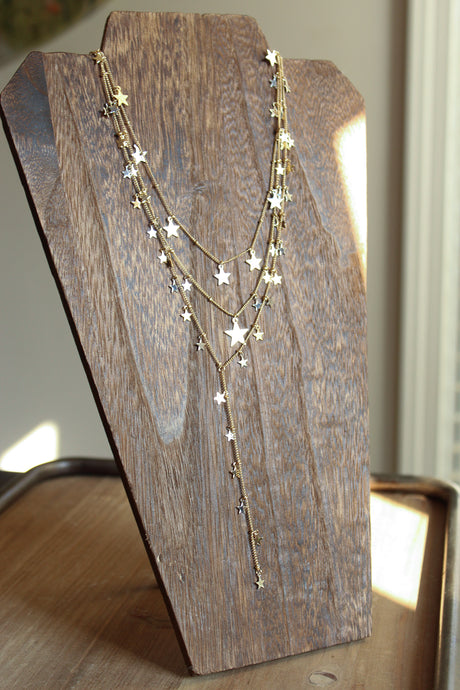 Stars Multi Layered Necklace