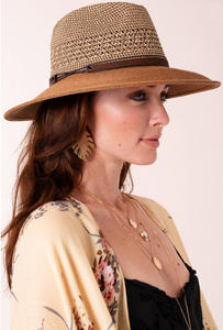 Natural Panama Straw Hat