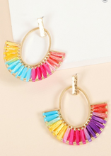 Load image into Gallery viewer, Rainbow Dangle Earrings
