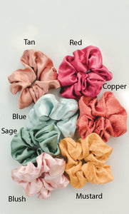 Luxury Satin Oversized Scrunchie
