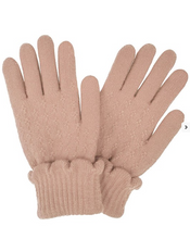 Load image into Gallery viewer, Scallop Knit Gloves
