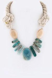Seaside Statement Rope Necklace