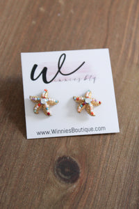 Starfish Multi Stud Earrings