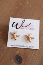 Load image into Gallery viewer, Starfish Multi Stud Earrings