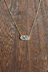 Simple Stone Dainty Necklace