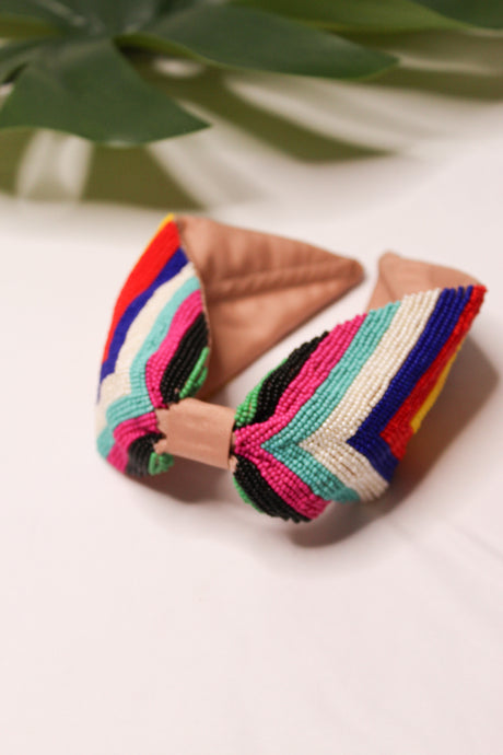 Treasure Jewels Fiesta Striped Headband