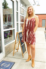 Load image into Gallery viewer, Colina Tie Dye Brown Dress