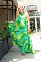 Load image into Gallery viewer, Tropical Paradise Maxi Dress
