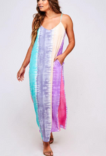 Load image into Gallery viewer, Watercolors Tie Dye Maxi Dress