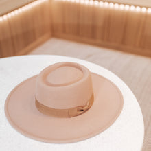 Load image into Gallery viewer, Winnie Wide Brim Boater Hat
