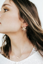 Load image into Gallery viewer, Let Me Shine Flower Earrings