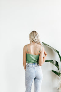 Minted Green Cami