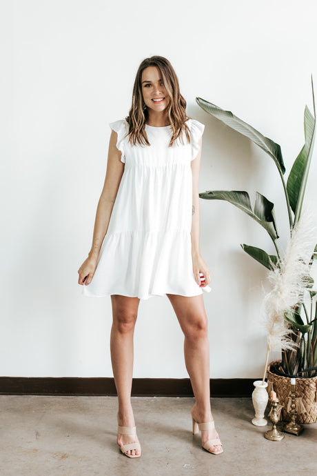 The Emily White Dress