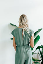 Load image into Gallery viewer, Knotted Front Jumpsuit