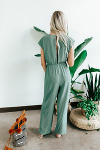 Knotted Front Jumpsuit