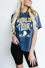 Load image into Gallery viewer, World Tour Graphic Distressed T-Shirt