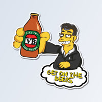 Dan Andrews Get On The Beers Sticker - TSHAR3