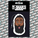 James Harden Air Freshener - TSHAR3