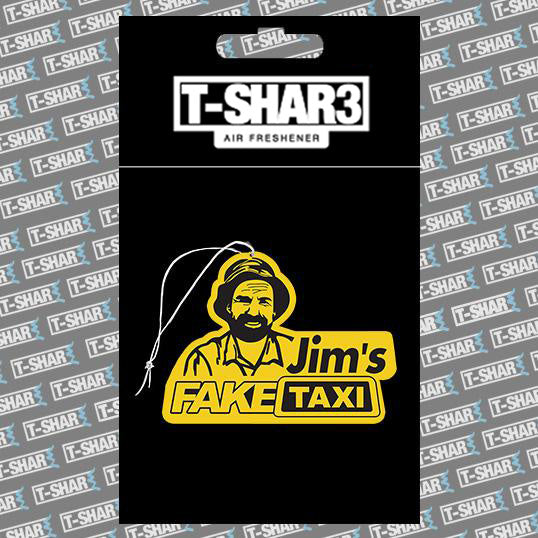 Jim's Fake Taxi Air Freshener