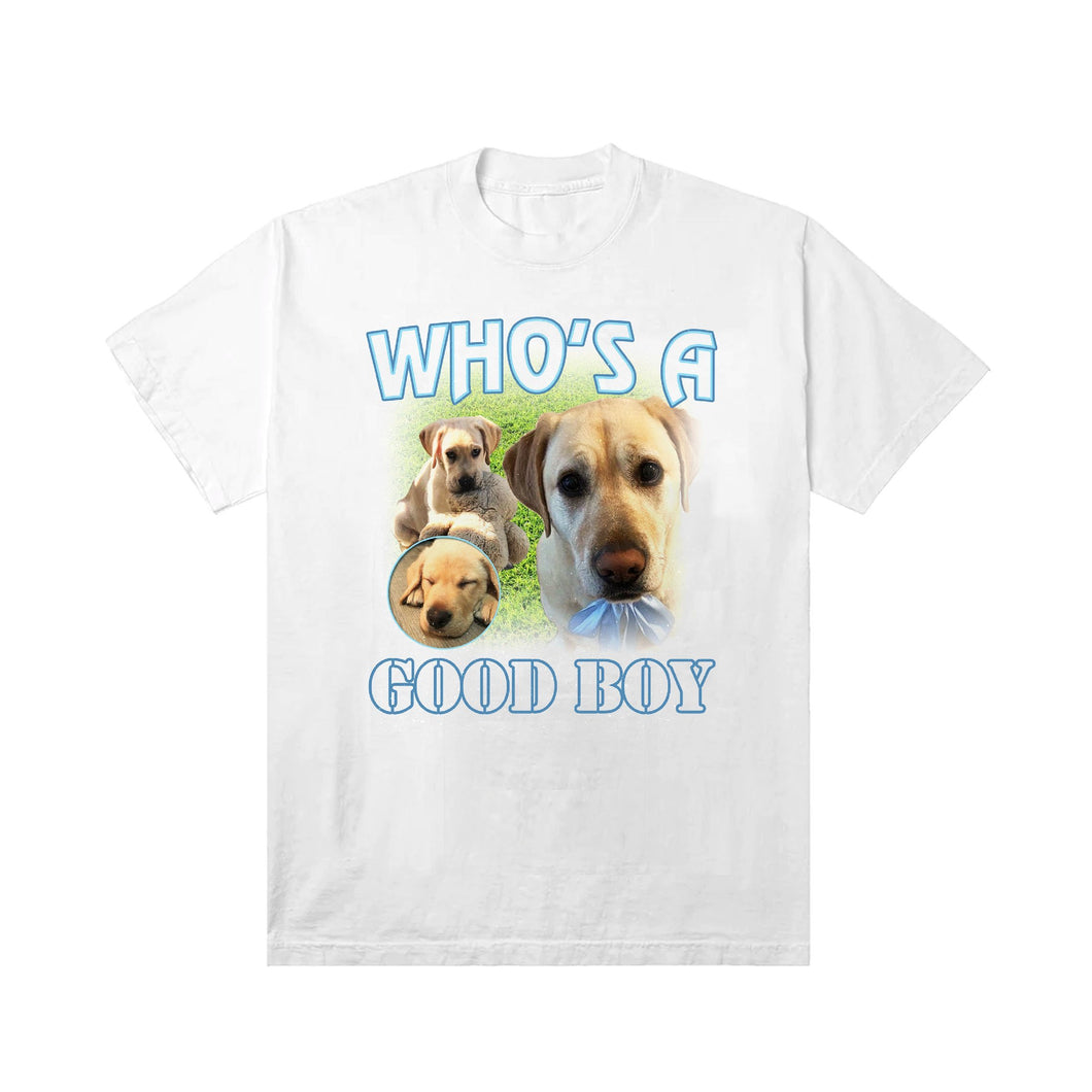 Labrador Retriever Graphic T-Shirt Unisex White - TSHARE