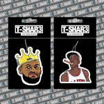 Lebron James, Michael Jordan Air Freshener Bundle - TSHAR3