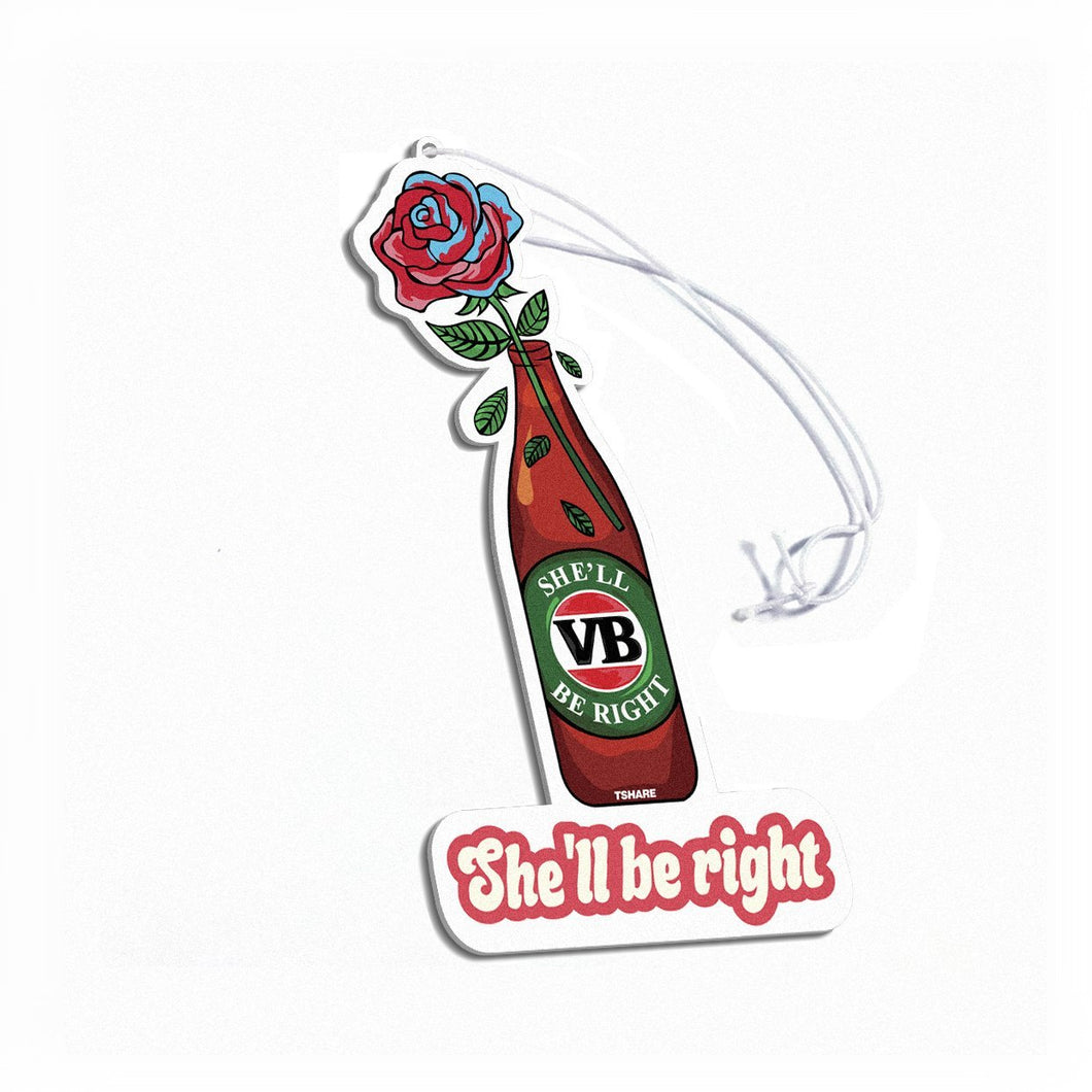 She'll be right Air Freshener - TSHARE