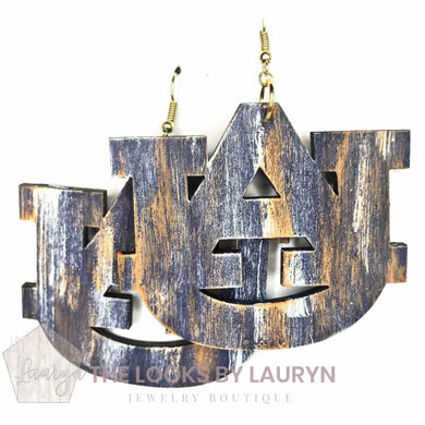 Auburn University Handmade Wooden Earrings - The Looks by Lauryn