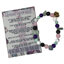 Load image into Gallery viewer, Channel Your Chill Crystal Stress Relief Bracelet - The Looks by Lauryn