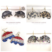 Load image into Gallery viewer, armadillo earrings - the looks by lauryn
