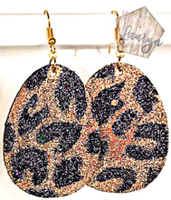 Load image into Gallery viewer, Leopard Print Egg Easter Earrings - The Looks by Lauryn