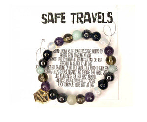 Safe Travels Healing Crystal Bracelet - The Looks by Lauryn