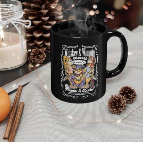 Cool Coffee Mugs featuring Original Cartoon Designs